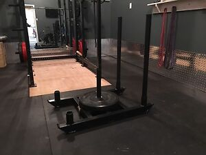 Workout weight sled