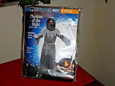 Phantom of the Night Halloween Costume  Boys Sz 10-12 - 12 Nights Of Halloween