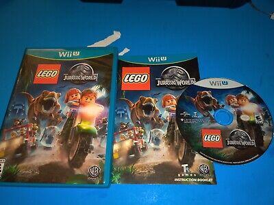 LEGO Jurassic World Complete CIB (Nintendo Wii U, 2015)