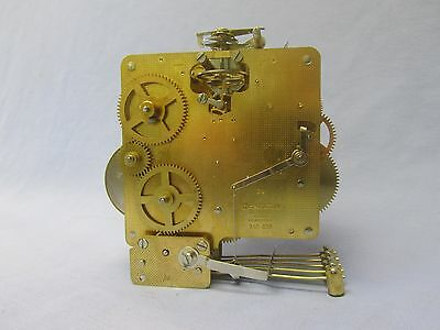 HERMLE 340-020, Westminster Mantel and Wall  Clock Movement, Guaranteed