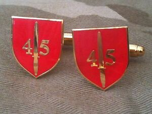 45-Commando-Royal-Marines-Cuff-Links-Military-Regimental-Army-Cufflinks