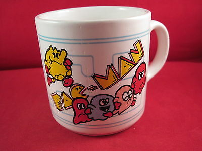 Pac Man Coffee Cup Mug 3 1/2""