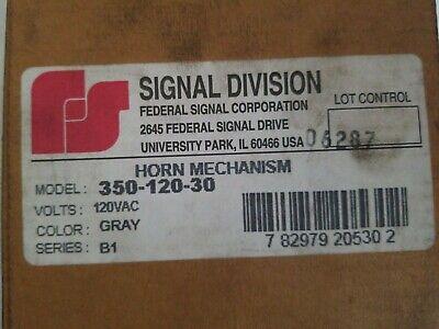 New Federal Signal 350-120-30 Horn Mechanism 120vac