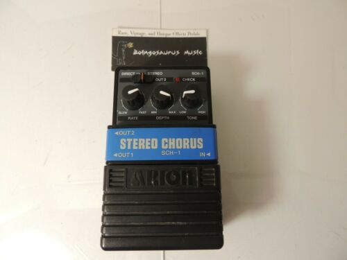 Vintage Arion SCH-1 Stereo Chorus Effects Pedal  Free USA Shipping