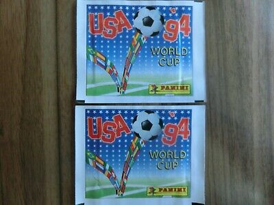 Interne Pack (PANINI WORLD CUP 1994 WM 94 USA VERS. INTERN. 2x TÜTE HORIZONTAL PACK sealed )