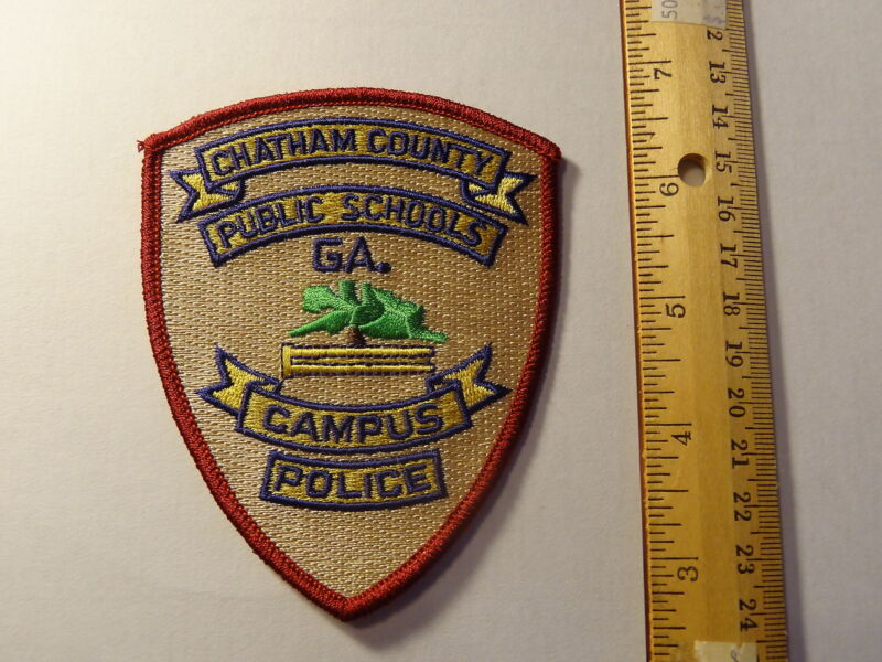 Chatham County Georgia Public School Police Patch - New
