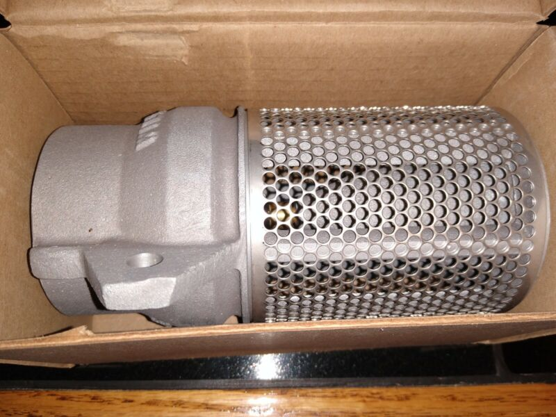 """Waterax  250151 B-5258 Footvalve and strainer . New in box. 2"""" NPSH 51 mm"""