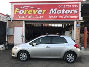 2009 Toyota Corolla ASCENT 6 SPEED MANUAL HATCH Long Jetty Wyong Area Preview