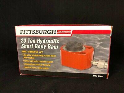 Pittsburgh Automotive 20 Ton Hydraulic Short Body Ram Bend Straighten Lift 95980