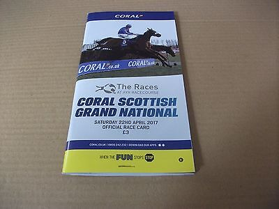 AYR RACE CARD, 2017 SCOTTISH NATIONAL - SATURDAY, 22ND APRIL, 2017 - VICENTE