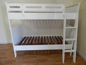 Treehouse single white bunk bed SYDNEY DELIVERY & ASSEMBLY Windsor Hawkesbury Area Preview