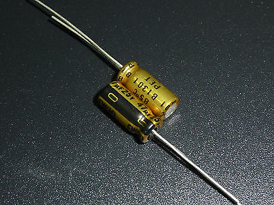 5pcs 25v47uf 25v Nichicon Fw Standard Capacitor 5x11mm For Audio