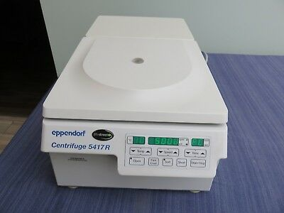 Eppendorf 5417r Refrigerated Centrifuge W Rotor F45-30-11 Lid 16400 Rpm