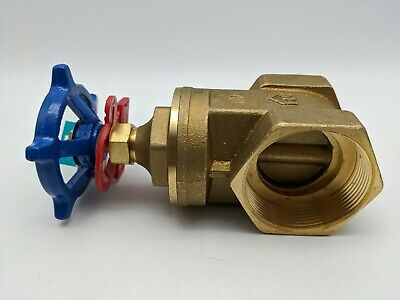 Everbilt 2 In. Forged Brass Fip X Fip Gate Valve 170-2-2-eb - 2 Lead Free