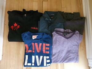 MEN'S SMALL SIZE LOT OF 5 ITEMS