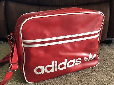 Adidas Shoulder Bag Red And White