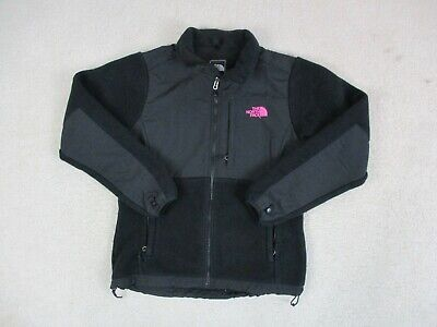 The North Face Jacket Womens Medium Black Pink Full Zip Coat Outdoors Ladies