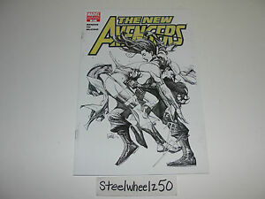 New-Avengers-31-Leinil-Francis-Yu-Sketch-Variant-Marvel-Comics-Secret-Invasion