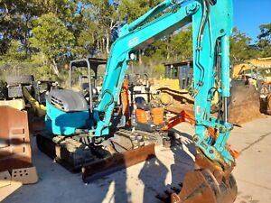 Excavator 5 Ton Kobelco SK55SRX-6 Rathmines Lake Macquarie Area Preview
