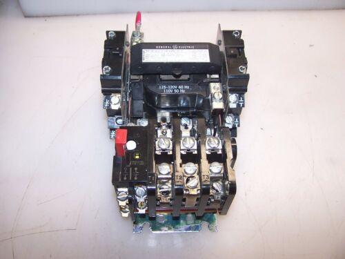 GE GENERAL ELECTRIC SIZE 1 MOTOR STARTER 120 VOLT COIL 10 HP 3PH CR306CO**ACET