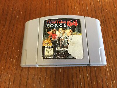 Fighting Force N64 GAME ONLY AUTHENTIC. Tested and working.