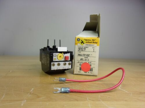 CR7G1TF GE OVERLOAD RELAY