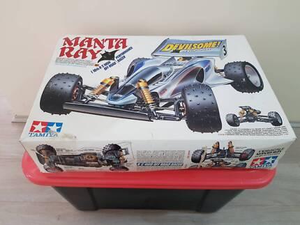 Vintage Tamiya #58087 Manta Ray (Empty-Box)