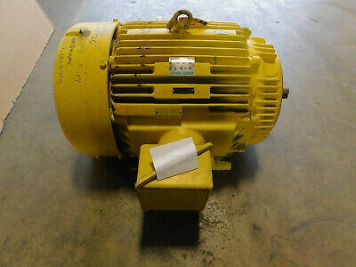 Marathon Electric Motor 150 Hp 460 Volts 445tcz Frame Tefc Enclosure 1780 Rpm