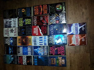 large collection of dean koontz