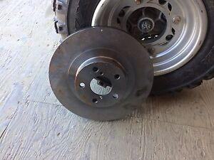 Subaru front brakes