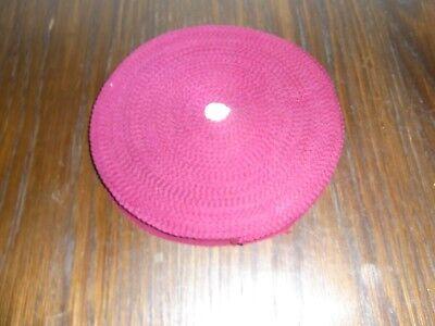 (0,20€/m) bordeaux rotes Band/Borte 1,5cm breit 60m auf einer Rolle OPEW