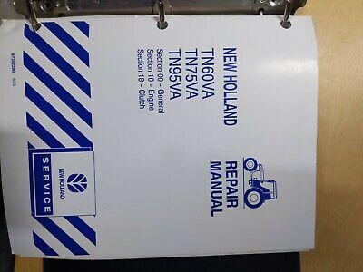 New Holland Tn60va Tn75va Tn95va Repair Manual