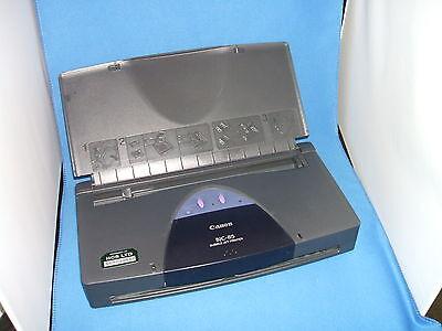 Canon BJC85 portable printer refurbished with black head bundle