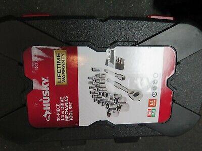 Husky 30 Piece 1/4 in Drive Mechanics Tool Set quick shipping
