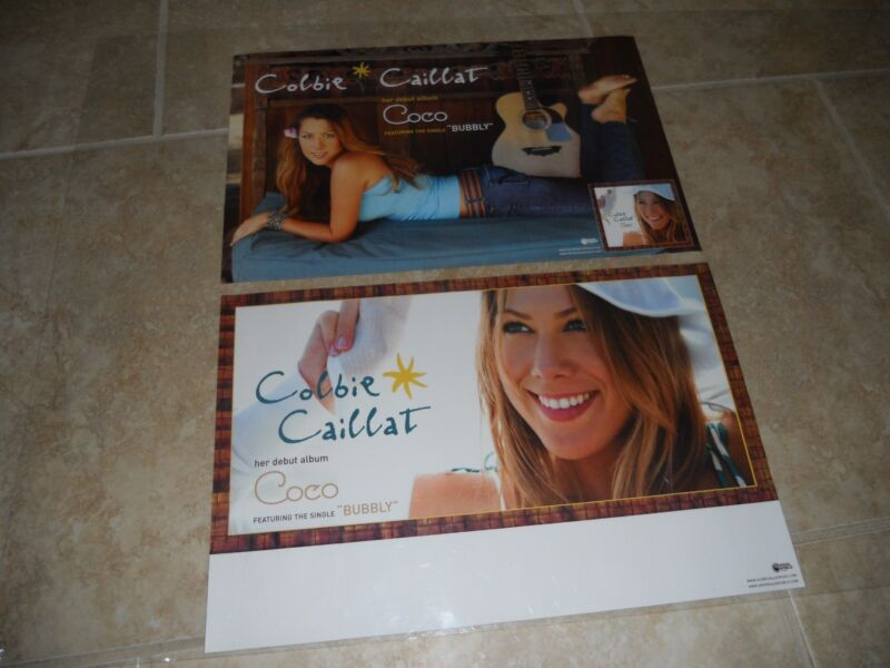 "Colbie Caillat COCO Sexy Promo Music CD Poster 11"" x 17"" rare limited"