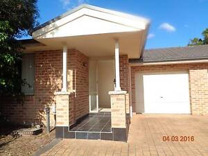 3 Bedrooms Brick Town-House with Lock up Garage Mount Druitt Blacktown Area Preview
