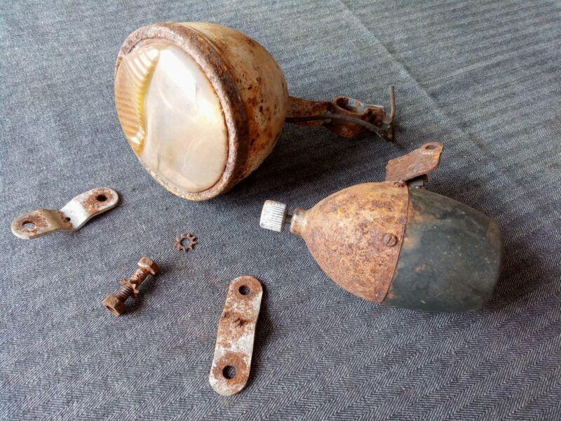 Pre Post WW2 Make A Lite Generator Headlight for Ballooner Parts or Repair!