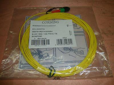 1 Glasfaserkabel SC APC 9/t Glasfaseranschlusskabel  8 m Kabel    4061