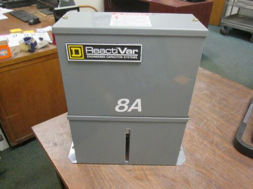 Square D React: Var Capacitor PFCD4007 7.5KVAR 480V 3Ph 60Hz Used
