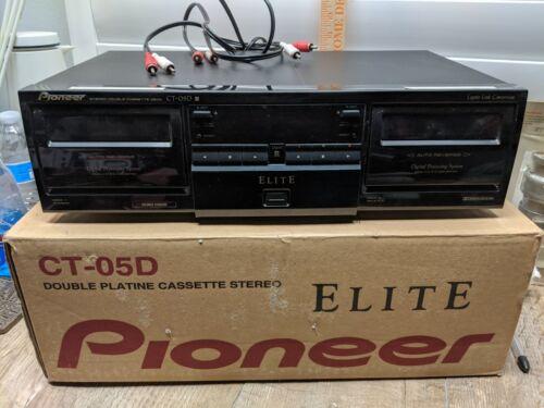 Pioneer Elite CT-05D - Dual Cassette Deck  Minimal Use