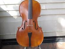 CALIN WULTUR CELLO 2008, BOW, HARDCASE Auchenflower Brisbane North West Preview