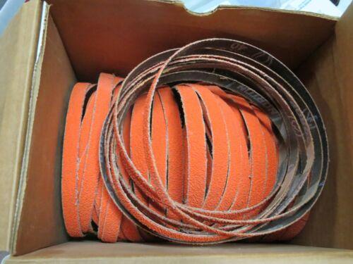 "5 pcs NORTON SG Blaze 1/2"" x 18"" Grit 40 Sanding Belts 98021 USA"