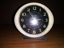 Vintage Collectible Baby Ben Westclox - Small Wind Up Alarm Clock - Black/Metal