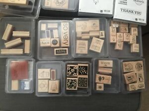 Stampin' Up Stamps- Must go!