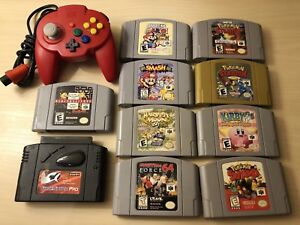 Rare Authentic Nintendo 64 Games - Individually Priced - Pokemon