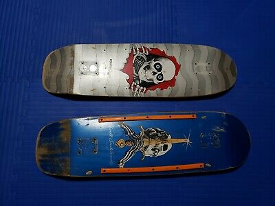 Powell Peralta Skateboard Decks: Ripper & Sword and Skull