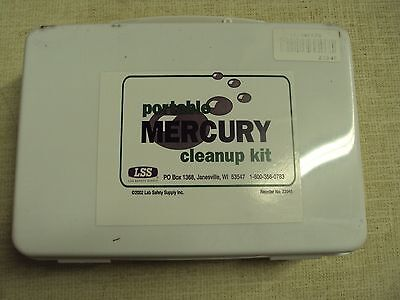 New Portable Mercury Spill Cleanup Kit 23945 Lab Safety Supply Hg Clean Up Kit