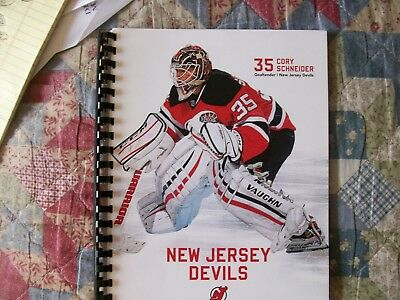 2015-16 NEW JERSEY DEVILS MEDIA GUIDE Yearbook Press Book Program 2016 NHL  AD