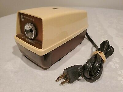Panasonic Kp-33n Point-o-matic Electric Pencil Sharpener Vintage Japan Works