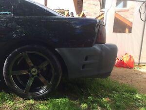 99-04 saleen front/rear bumper